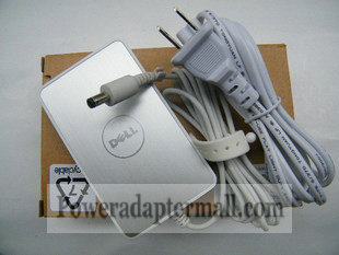 45W Dell 330-4102 Power Supply Charger AC Adapter White