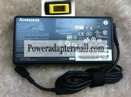Lenovo ThinkPad W540 ADL170NDC3A ADL170NCC3A Notebook AC Adapter