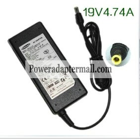 19V 4.74A 90W Samsung RV520-A02 Laptop AC Adapter Power Supply