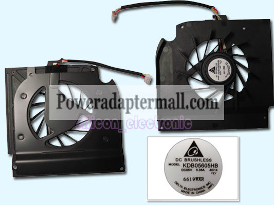 New HP Pavilion DV9200 DV9300 Fan 434678-001 448016-001