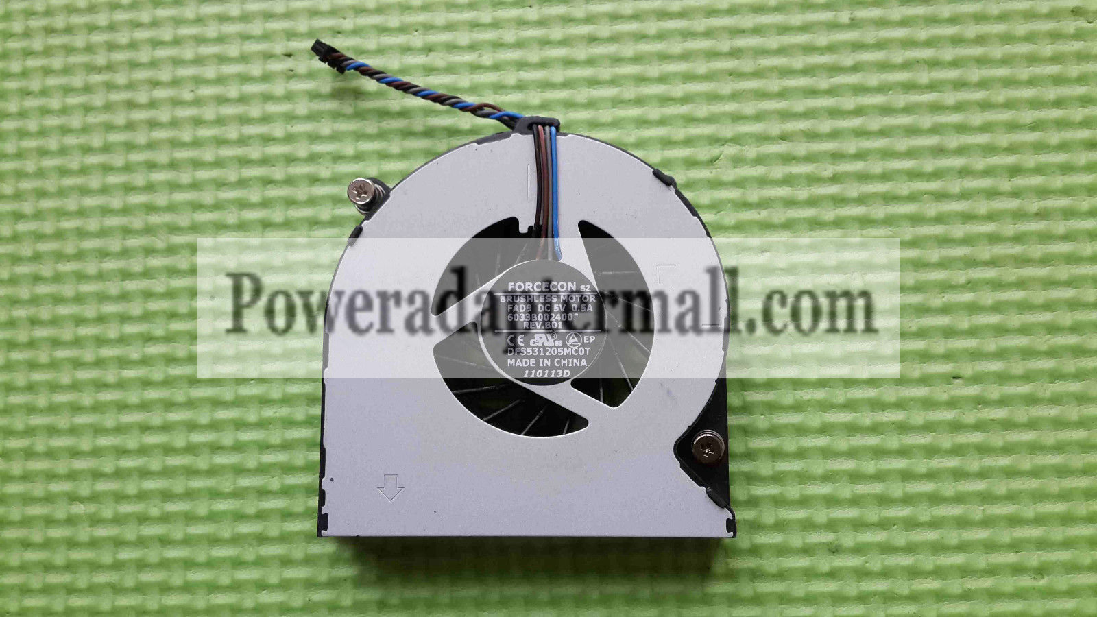 HP EliteBook 8450P 8460P CPU cooling fan DFS531205MC0T FAD9