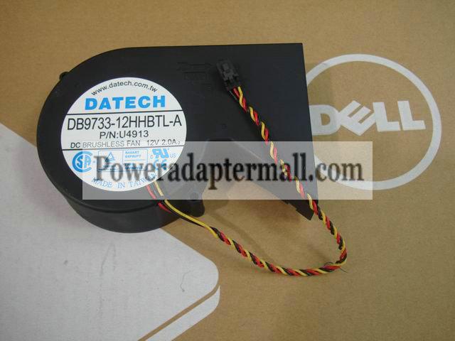 Dell OptiPlex 170L DATECH DB9733-12HHBTL-A U4913 Desktop PC Fan