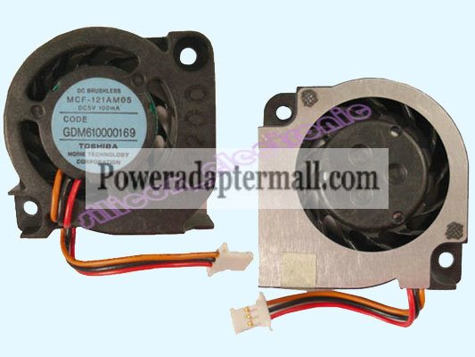 Toshiba Dynabook SS1600 SS1610 Series Laptop CPU Fan