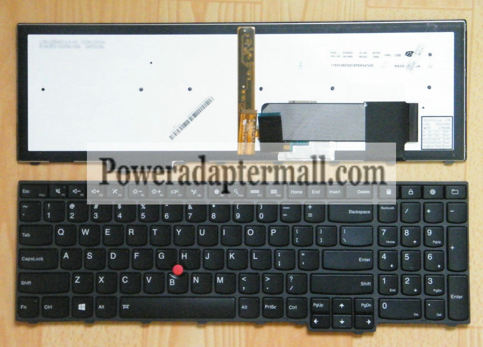 Genuine Lenovo W540 T540P T540 Backlit keyboard 04Y2465 0C45030
