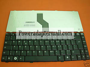 Black Fujitsu AMILO LI2727 Laptop Keyboard