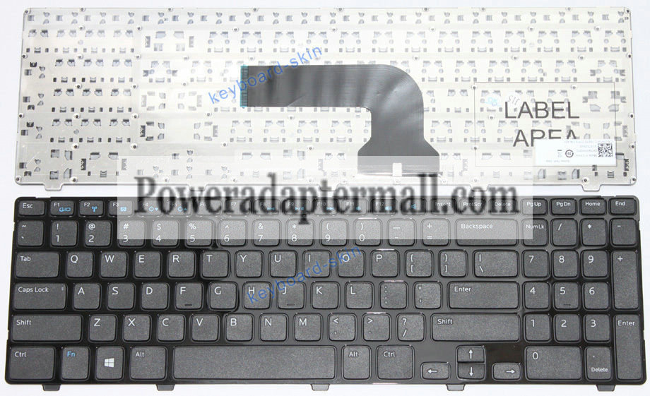 Dell Vostro 2521 V2521 laptop Keyboard 0YH3FC MP-12F83US-698