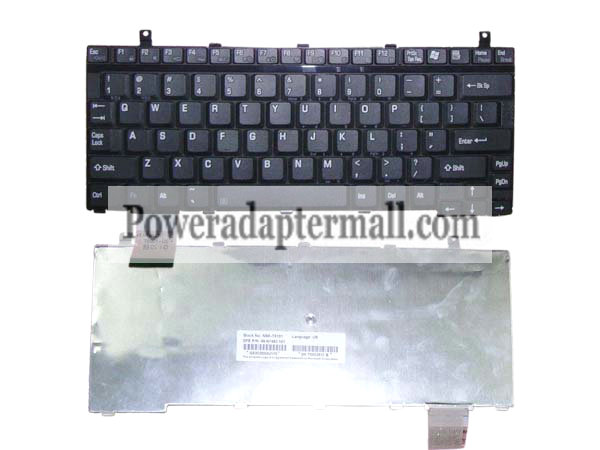 US Toshiba Portege M205 Laptop keyboard P000411620 T6201-US - Click Image to Close