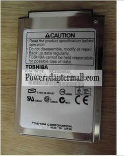 "1.8 "" 4200RPM 8MM HDD1524 40GB IDE TOSHIBA MK4004GAH"