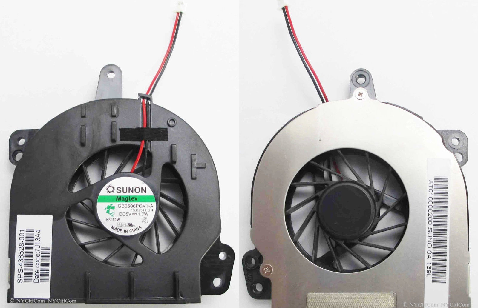 New CPU Cooler Fan For HP 500 510 520 530 540 P/N GB0506PGV1-A 13.B2541.GN 1.7W