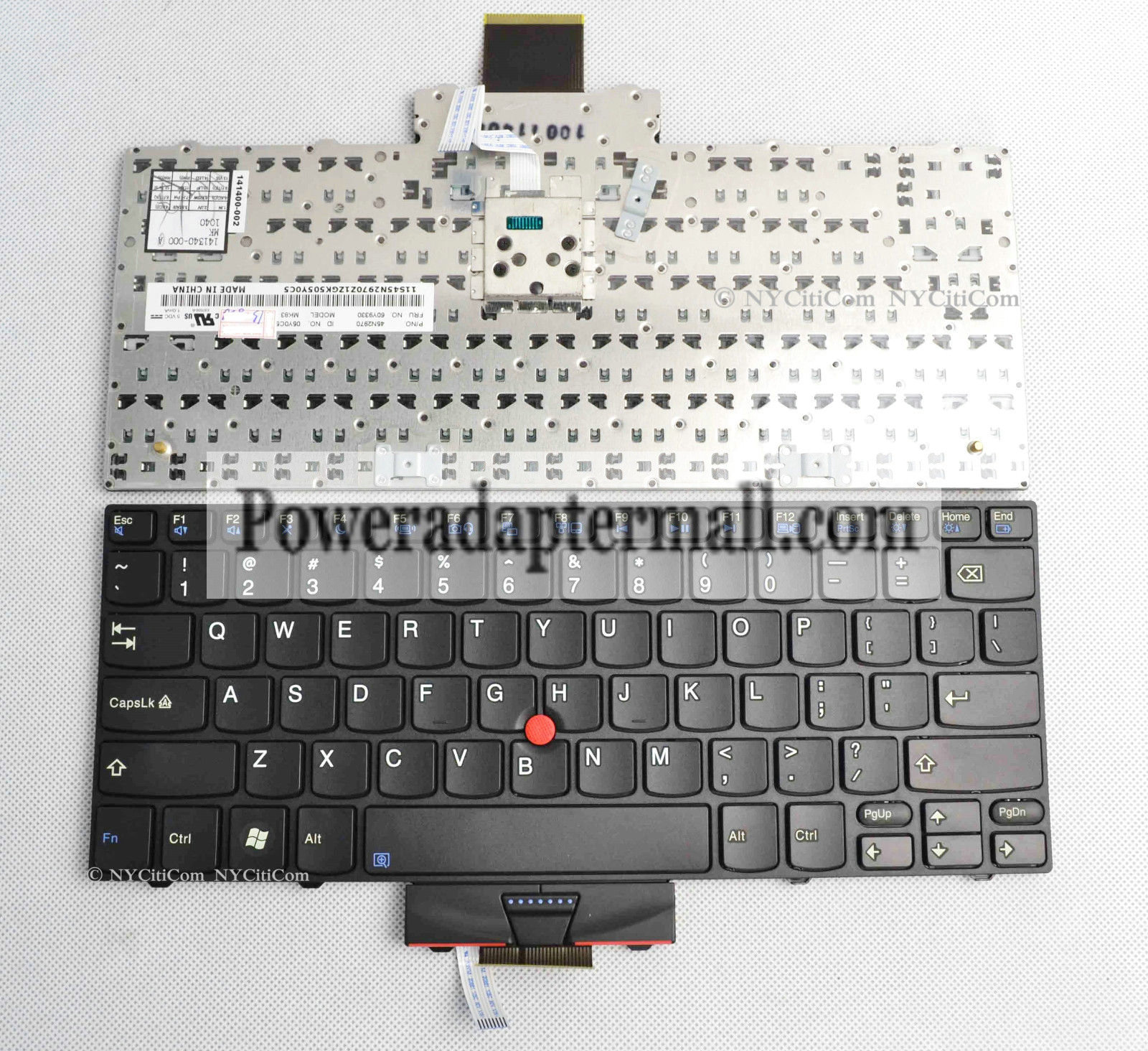 "45N2971 Lenovo Thinkpad Edge X100e 11"" series laptop keyboard US"