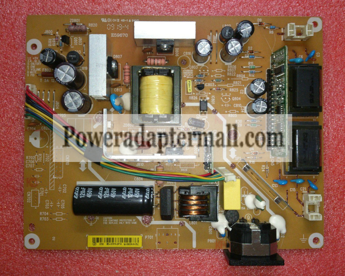 Genuine AOC 2391V 2291VW 2391V Power Supply Board ILPI-127