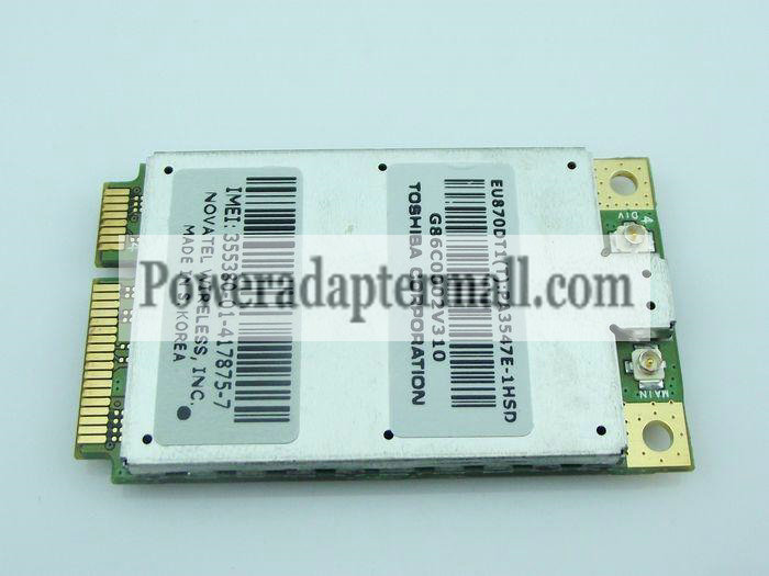 UNLUCKED DELL 5520 WWAN EU870D 3G HSDPA WWAN Card [DELL EU870D