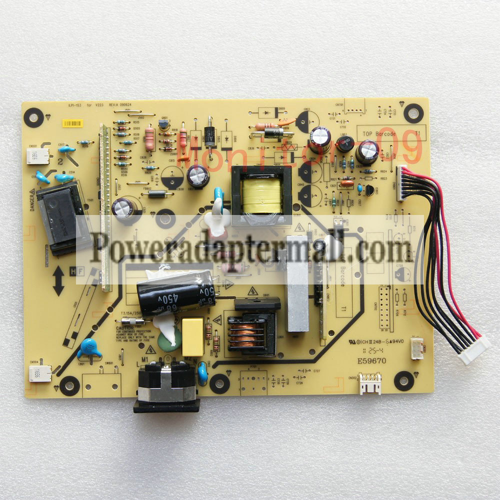 Acer V223 V203H V193 Power Supply Board ILPI-153 REV:A