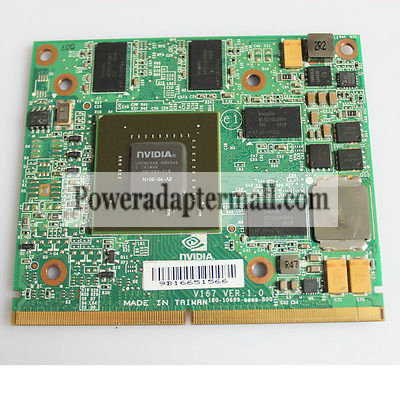 NVIDIA GTS250M 1GB DDR3 N10E-GE-A2 VGA Video Graphics Card - Click Image to Close