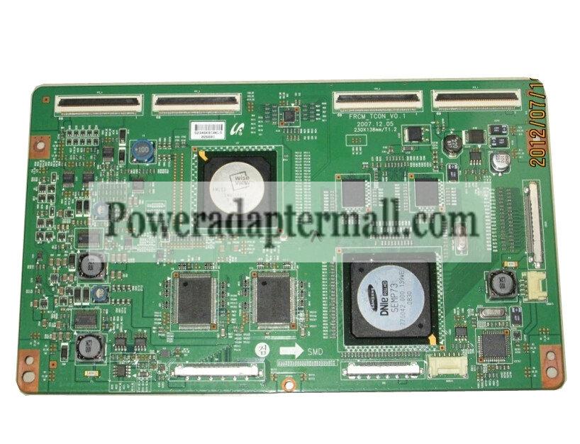 SAMSUNG LA46A650A1R LTF460HC01 FRCM_TCON_V0.1 T-CON BOARD