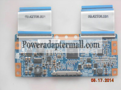 Haier LB42R3 LU42R3 T420HW04 V0 CTRL BD 42T06-C03 Power Board
