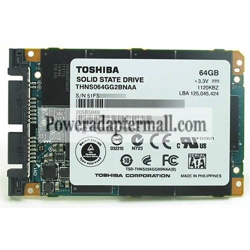 Sony TT13 THNS064GG2BNAA 64GB SSD Micro SATA SOLID STATE DRIVE