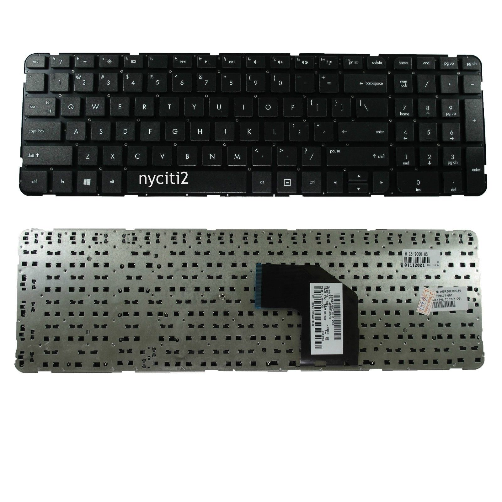 US Keyboard For HP g6-2270dx g6-2278dx g6-2279wm g6-2284ca g6-2269wm g6-2288ca